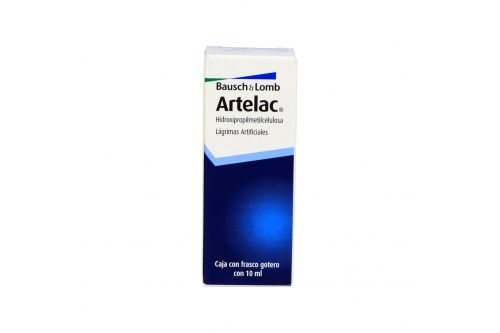Artelac Lagrimas Artificiales Frasco Gotero Con 10mL
