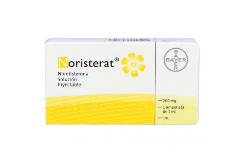 Noristerat 200 mg Caja Con 1 Ampolleta Con 1 mL
