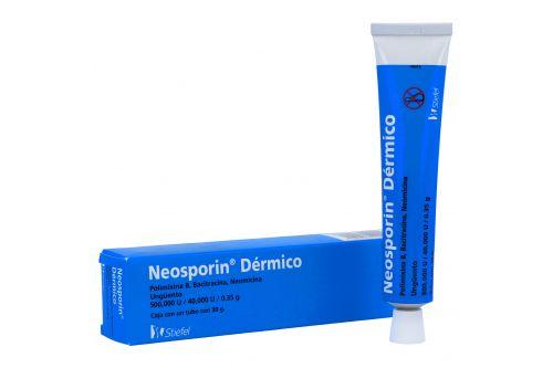 Neosporin Dérmico 500,000U/40,000U/0.35g Caja Con Tubo Con 30 g