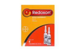 Redoxon Solución Inyectable 1 g Caja Con 6 Ampolletas Con 10 mL