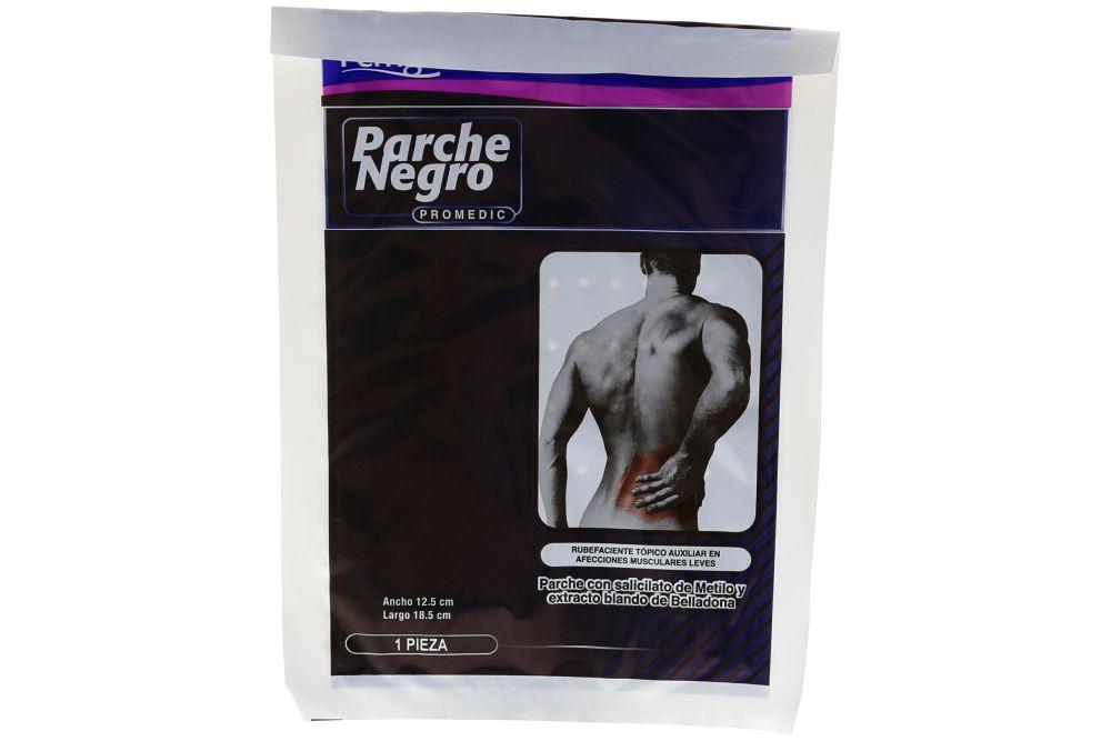 Parche Negro Promedic Bolsa Con 1 Pieza