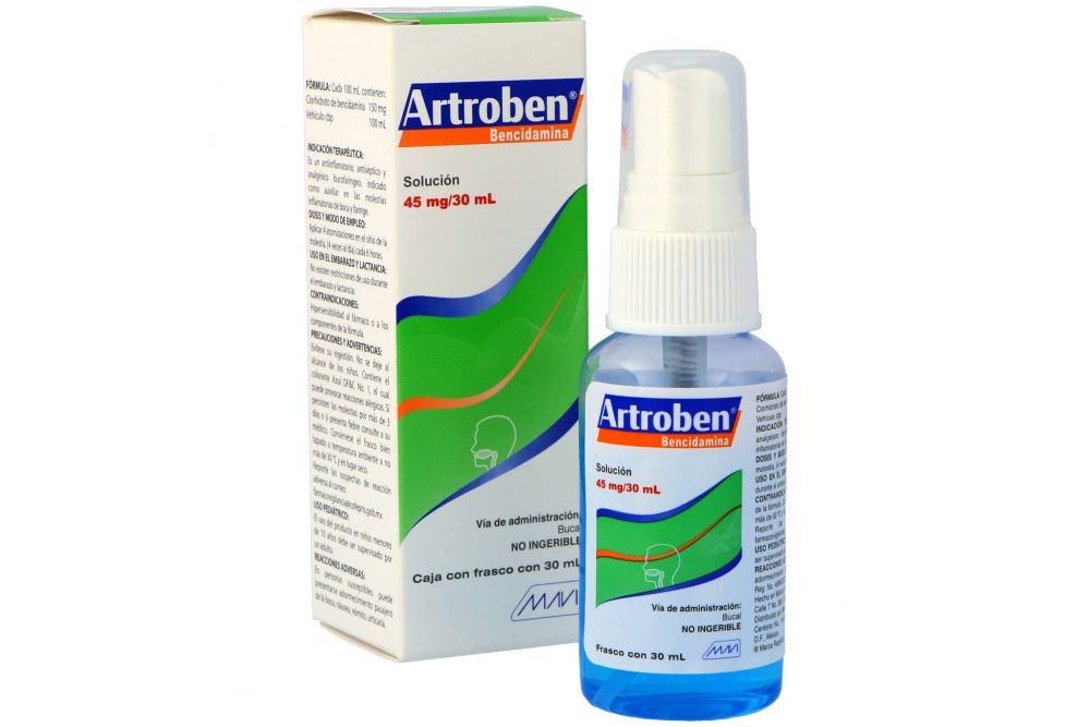 Artroben 45 mg Solución Bucal Frasco Con 30 mL