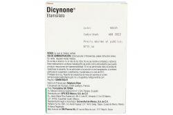 Dicynone 250 mg Caja Con 4 Ampolletas De 2 mL