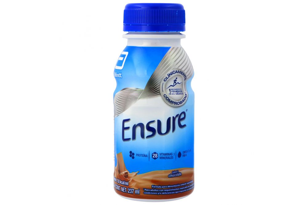 Ensure Suplemento Alimenticio Líquido 237 mL Sabor Chocolate