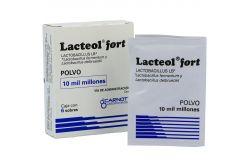 Lacteol Fort 10.000 M.U.I. Caja Con 6 Sobres