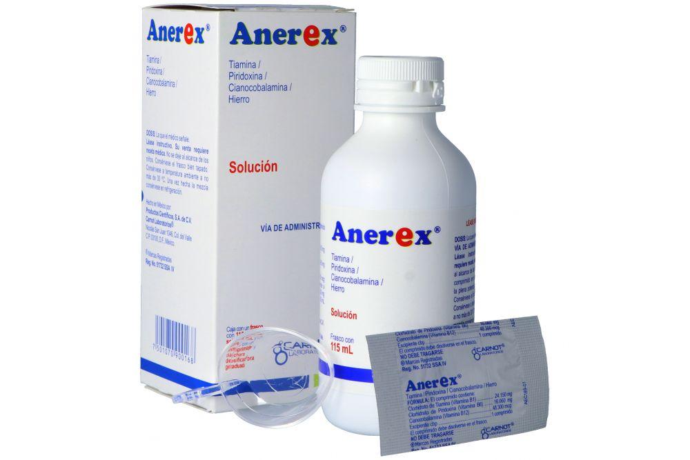Anerex 120 mg Caja Con Frasco Solución Con 115 mL