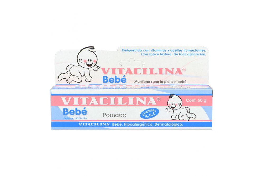 Vitacilina Bebé Pomada Caja Con Tubo Con 50g