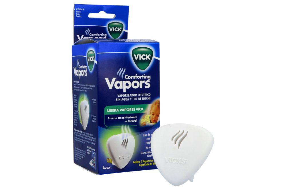 Comforting Vapors Vicks Caja Con 1 Difusor y 5 Repuestos