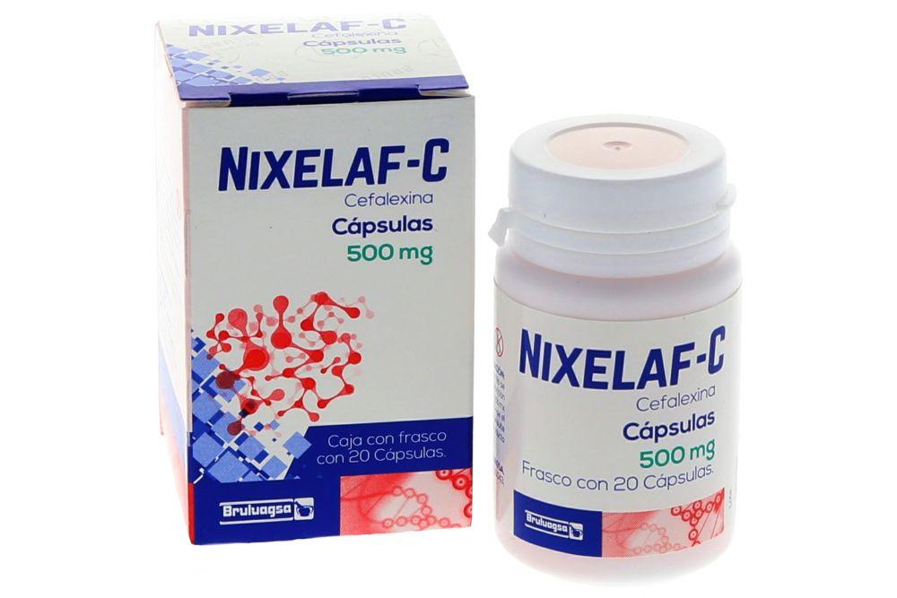 Nixelaf-C 500 mg Caja Con 20 Cápsulas