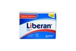 Liberan 50 mg Frasco Con 60 Tabletas Masticables