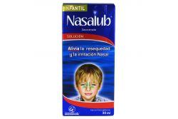 Nasalub Infantil Solución Caja Con Frasco Gotero Con 30 mL