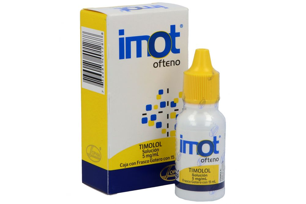 Imot Ofteno 0.5% Caja Con Frasco Gotero Con 15 mL - Glaucoma