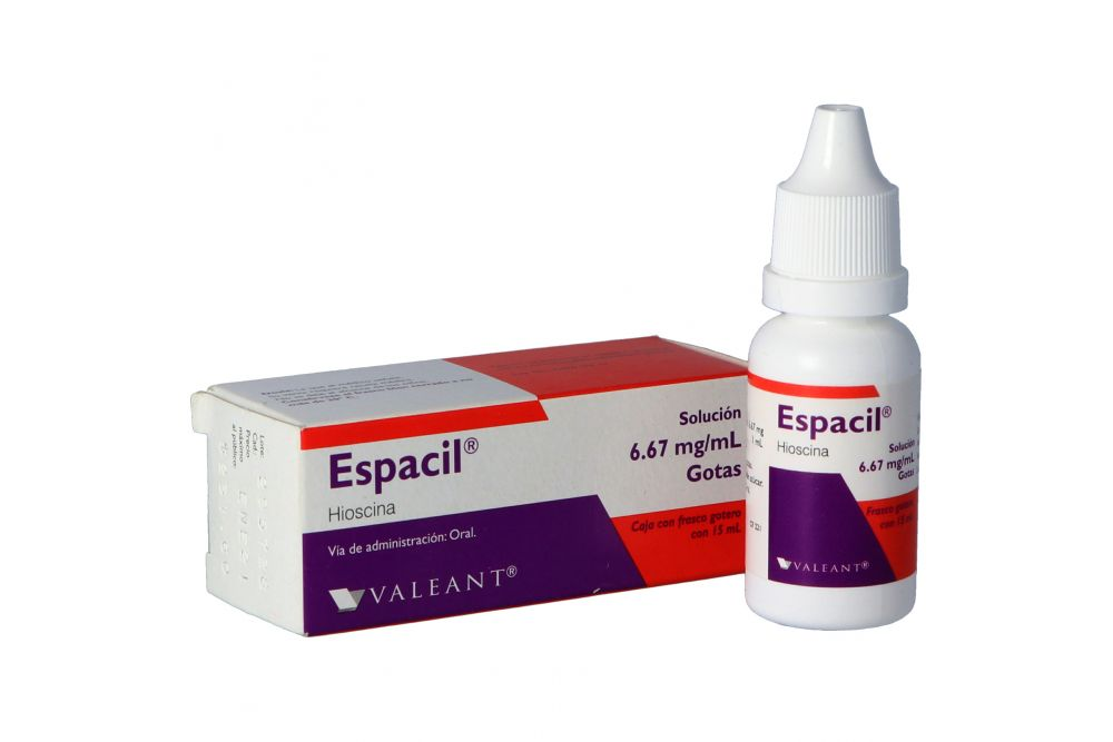 Espacil 6.67 mg Solución En Frasco Gotero Con 15 mL