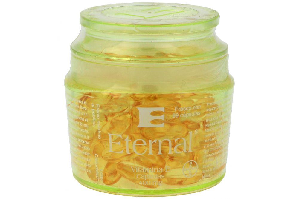 Eternal Vitamina E 400 UI Envase Con 99 Cápsulas