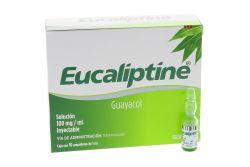 Eucaliptine 100 mg Caja Con 10 Ampolletas Con 1 mL