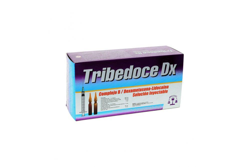 Tribedoce Dx Caja Con 3 Ampolletas y 3 Jeringas