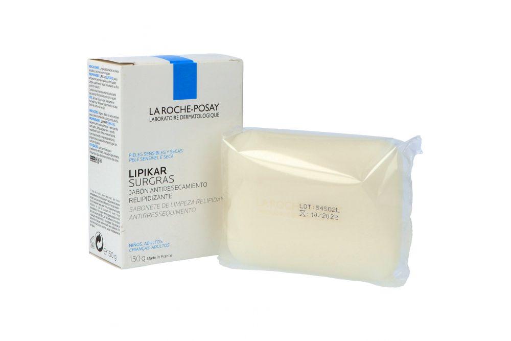 Lipikar Surgras Jabón Fisiológico Antidesecamiento Caja Con Barra De 150 g