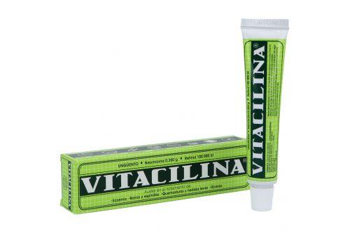 Vitacilina Ungüento Caja Con Tubo Con 28 g