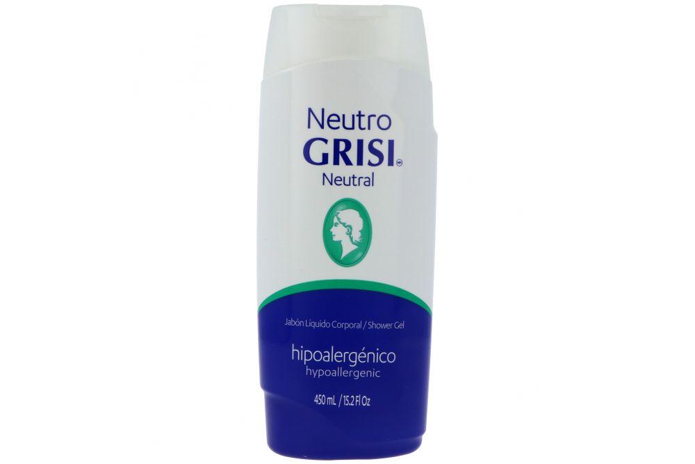Grisi Jabón Corporal Líquido Neutro Natural Frasco Con 450 mL