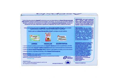 Asepxia Jabón Exfoliante Caja Con Barra Con 100 g