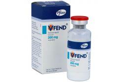 Vfend Solución Inyectable 200 mg Caja Con Frasco Ámpula