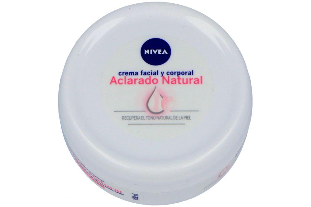 Nivea Crema Aclarado Natural Tarro Con 100 mL