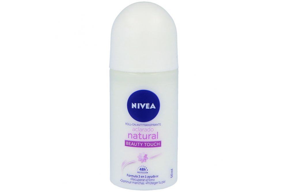 Antitranspirante En Roll-On Nivea Aclarado Natural Con 50 mL