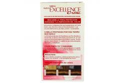 Tinte Para Cabello Loreal Paris Imédia Excellence Caja Con 7 Piezas Color Castaño Claro Dorado 5.3