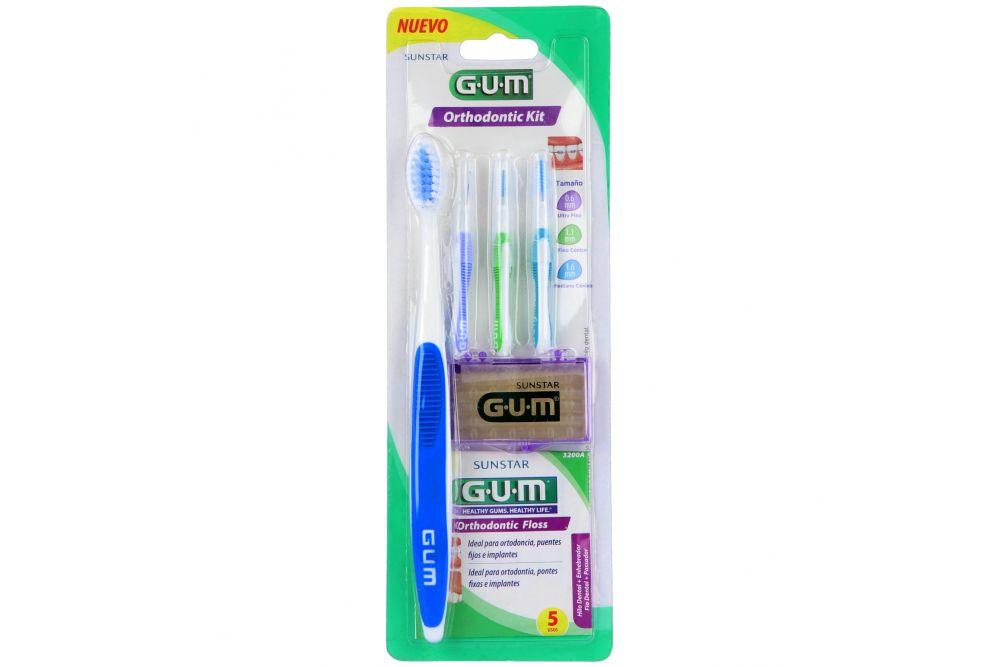 Kit De Ortodoncia GUM Con 6 Piezas