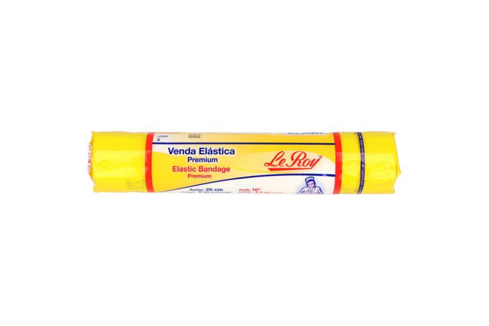 Venda Elástica Premium Le Roy 25 cm x 5 m Empaque Con 1 Pieza