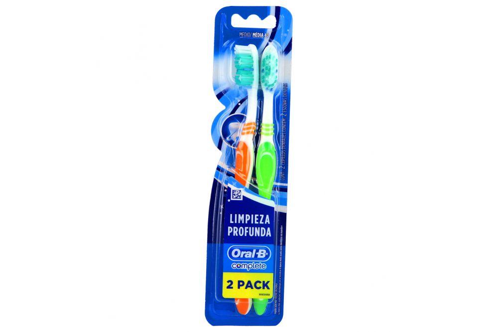 Cepillo Dental Oral B Complete Empaque Con 2 Piezas - 2x1