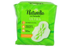 Toallas Sanitarias Naturella Con Manzanilla Ultra Empaque Con 14 Piezas