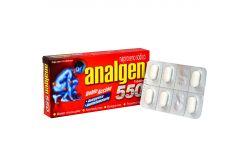 Analgen 550 mg Caja Con 12 Tabletas