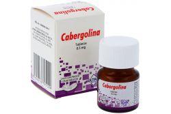 Cabergolina 0.5 mg Caja Con Frasco Con 8 Tabletas