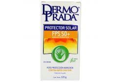 DermoPrada Protector Solar FPS 50+ Caja Con Tubo Con 120 g