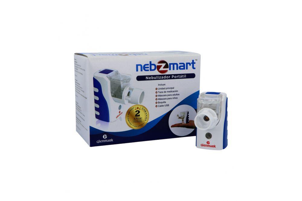 Nebulizador Portátil Nebzmart Caja Con Un Dispositivo