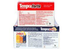 Tempra 24 Horas Caja Con 12 Tabletas + Tempra Forte 2 Cajas Con 24 Tabletas