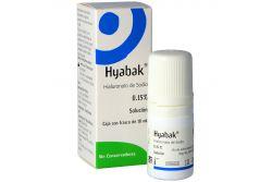Hyabak 0.15 % Solución Caja Con Frasco Con 10 mL