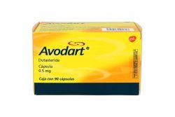 Avodart 0.5 mg Caja Con 90 Cápsulas