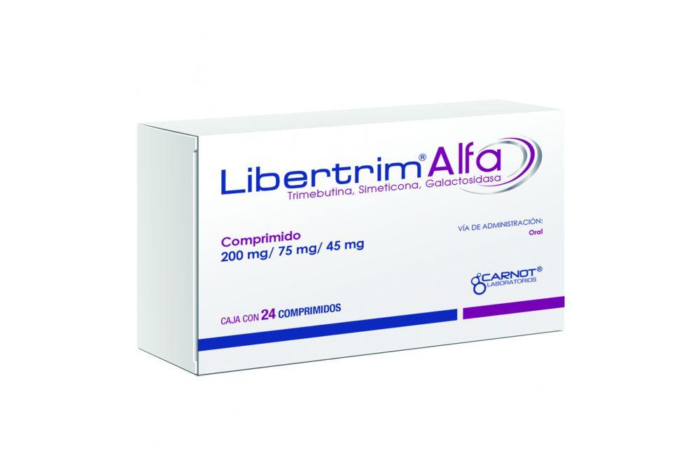 Libertrim Alfa 200 mg/75 mg/45 mg Caja Con 24 Comprimidos