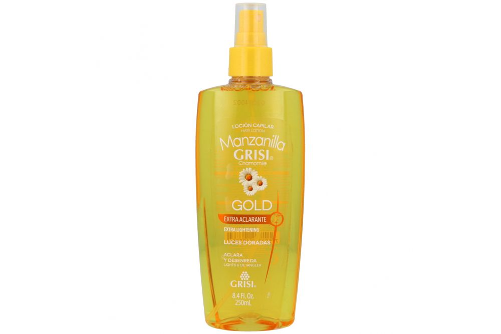 Loción Capilar Spray Manzanilla Grisi Gold Frasco Con 250 mL
