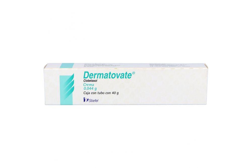Dermatovate Crema 0.044 g Caja Con Tubo Con 40 g
