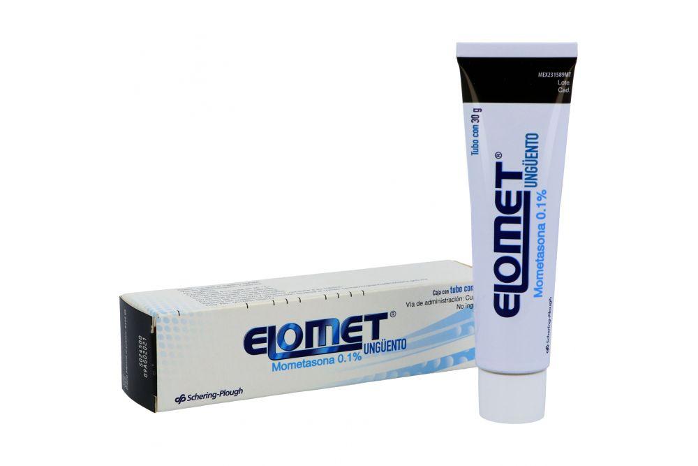 Elomet 0.1% Ungüento Caja Con Tubo Con 30 g