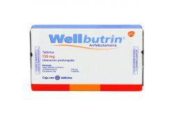 Wellbutrin 150 mg Caja Con 30 Tabletas