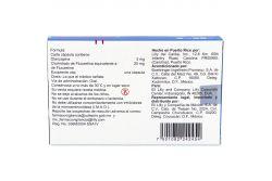 Symbyax 3 mg /25 mg Caja Con 14 Cápsulas