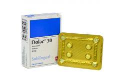 Dolac 30 Caja Con 4 Tabletas