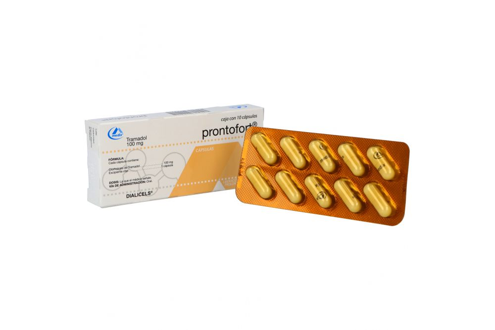 Prontofort 100 mg Caja Con 10 Cápsulas
