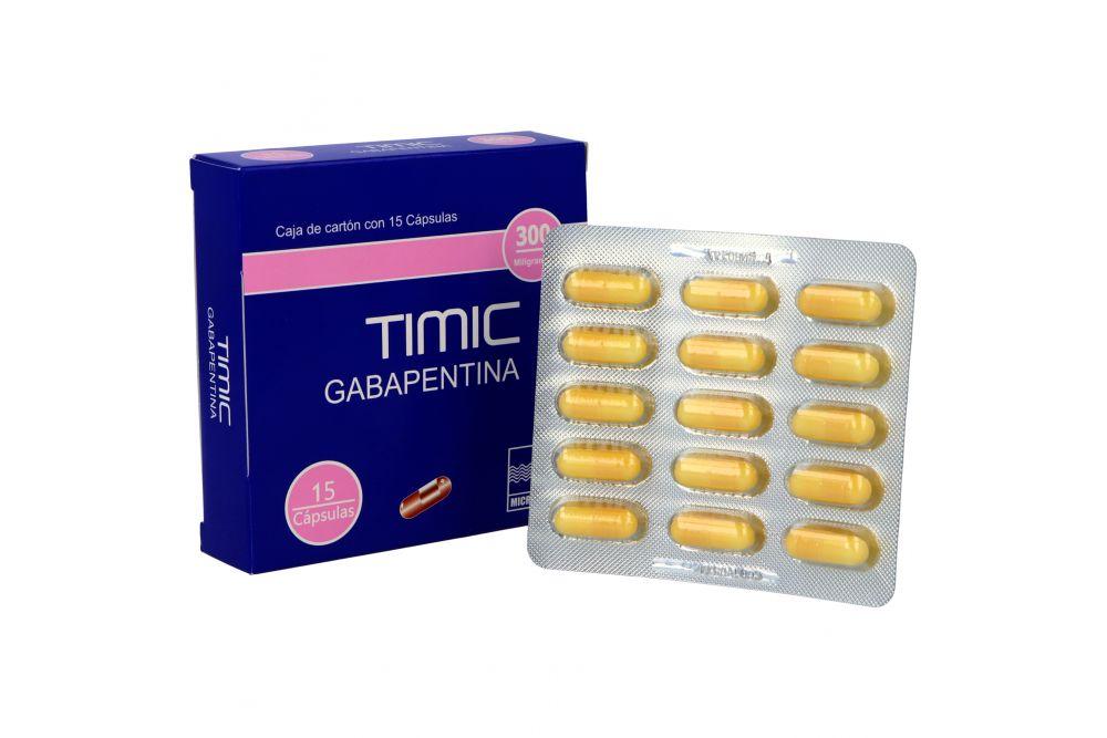Timic 300 mg Caja Con 15 Cápsulas