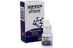 Iopzox Ofteno Solución 20 mg /mL Caja Con Frasco Gotero Con 5 mL