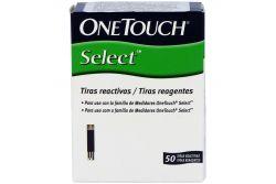 Onetouch Select Tiras Reactivas Caja Con 2 Frascos Con 25 Tiras